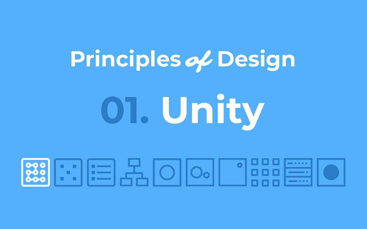 Principles of Design: Unity – UX Engineer
